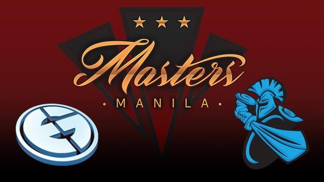 EG vs Newbee Manila masters 2017